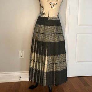 One of a kind pleated skirt